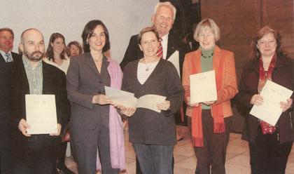 Auszeichnung Landeswettbewerb