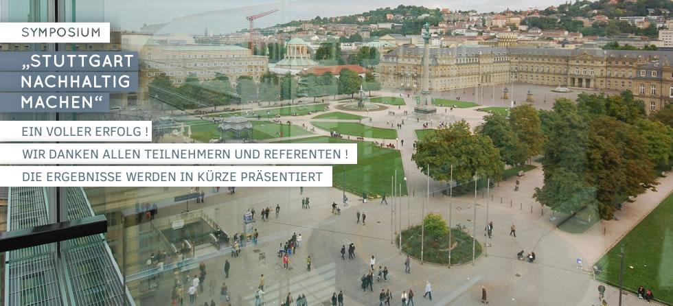 Symposium Stuttgart nachhaltig machen