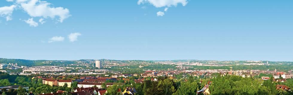 Stuttgart Panorama